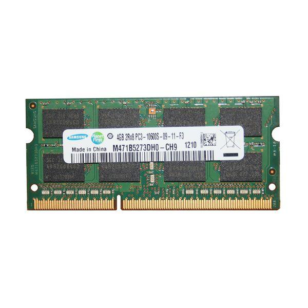 رم لپ تاپ سامسونگ مدل 1333 DDR3 PC3 10600s MHz ظرفیت 4گیگابایت | Samsung DDR3 PC3 10600s MHz 1333 RAM - 4GB