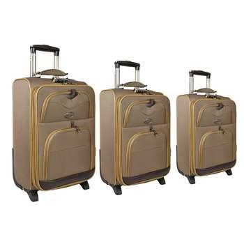 مجموعه سه عددی چمدان مدل تاپ یورو 5