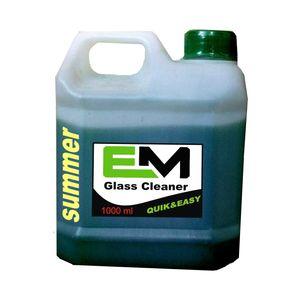 محلول شیشه شوی خودرو ای ام  مناسب برای تابستان حجم 1000 میلی لیتر