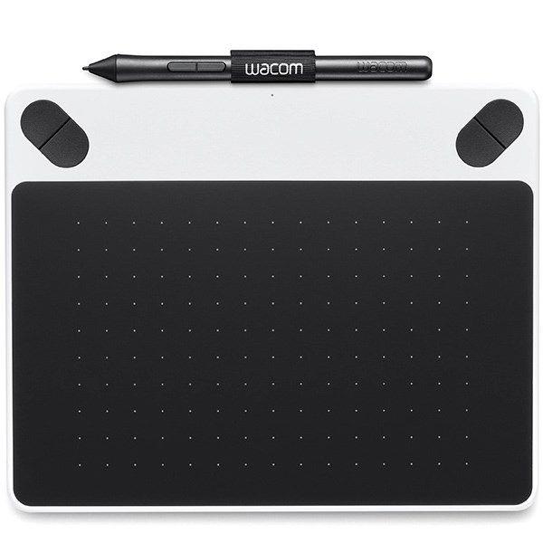 تبلت گرافیکی همراه با قلم دیجیتال وکام سری Intuos Draw مدل CTL-490D