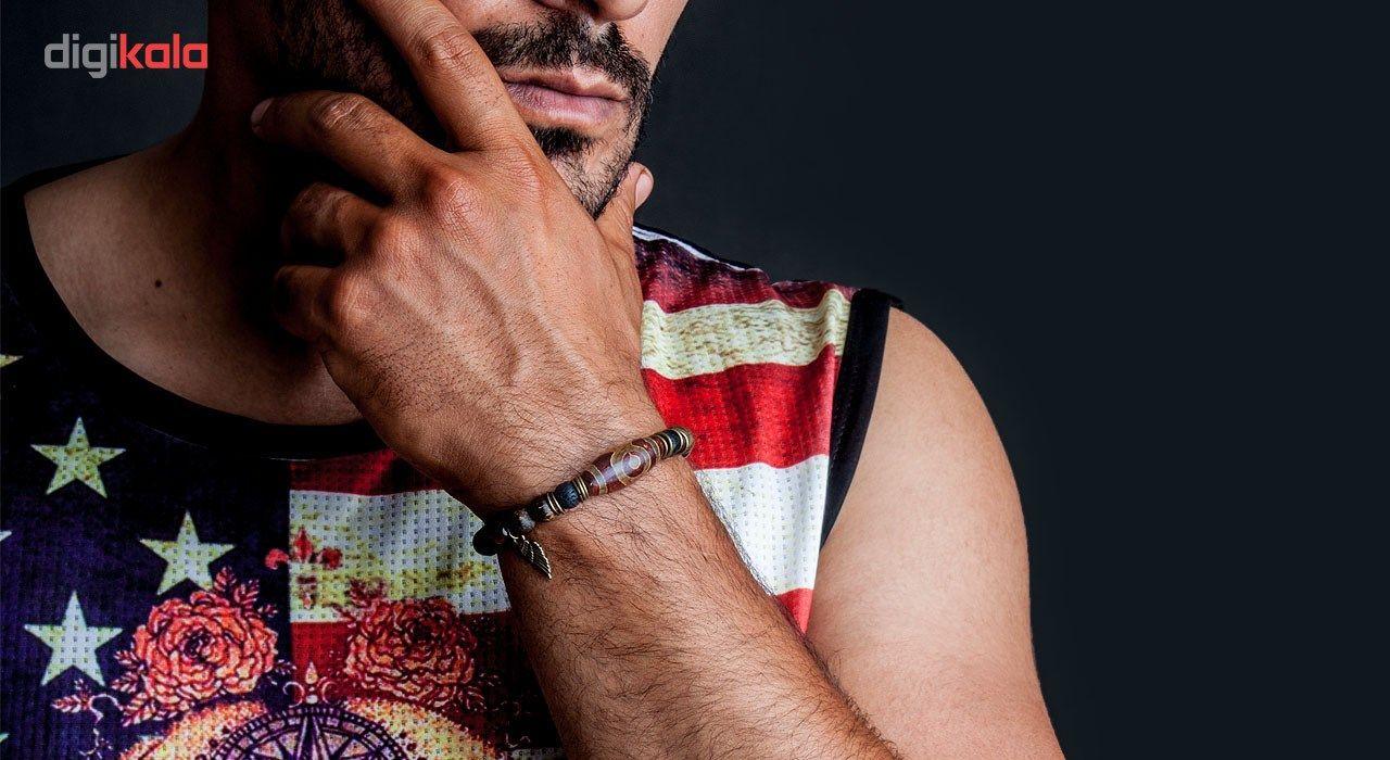 دستبند مردانه ریسه گالری مدل Ri3-T1004B -  - 3