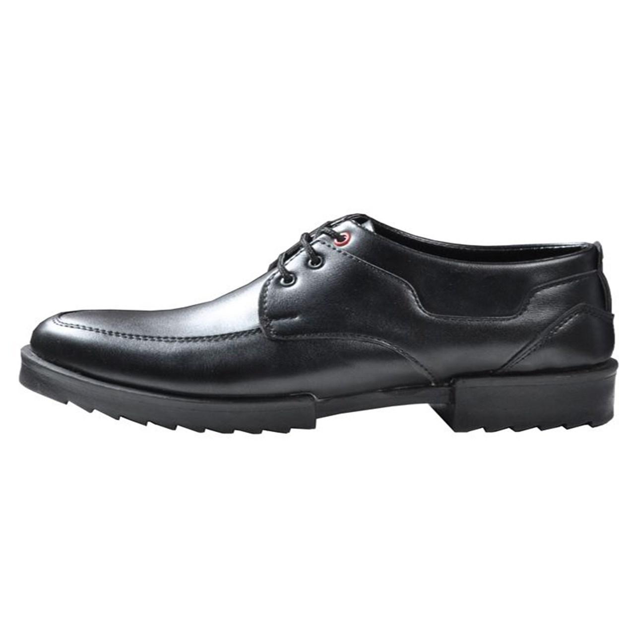 کفش کالج چرم مهاجر  مردانه مدل M20M