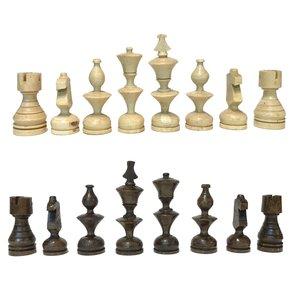 ست مهره شطرنج چوبی سین گالری مدل چوبین