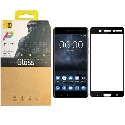 محافظ صفحه نمایش شیشه ای پیکسی مدل 5D  مناسب برای گوشی نوکیا 6