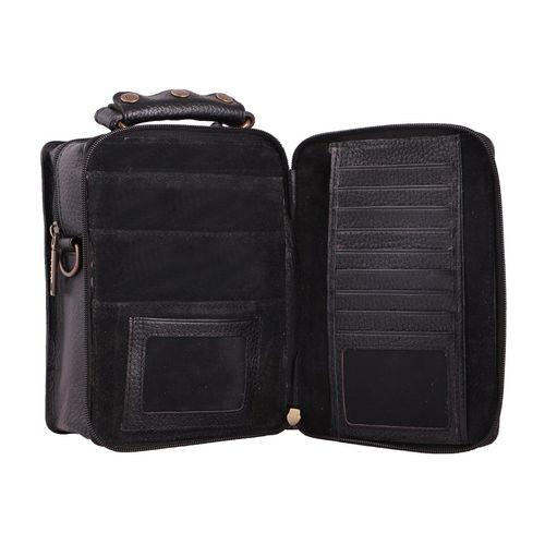 کیف دوشی چرم ما مدل 06