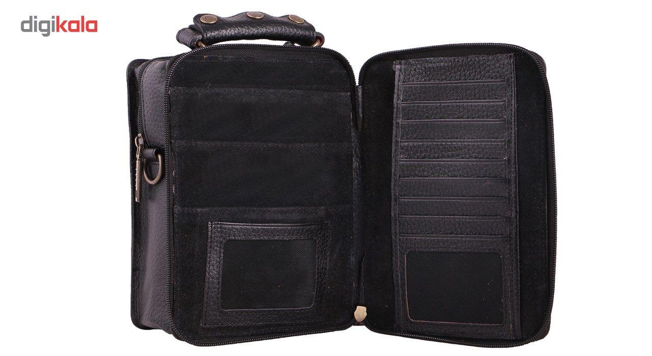 کیف دوشی چرم ما مدل 06 main 1 2