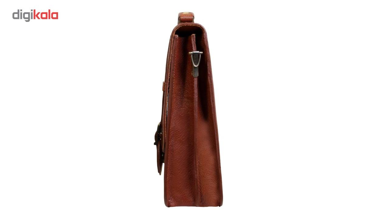 کیف اداری مردانه چرم ناب کد K100 main 1 3