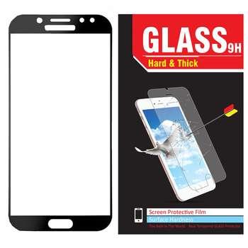 محافظ صفحه نمایش شیشه ای مدل Hard and thick  full cover مناسب برای گوشی موبایل سامسونگ J5 Pro/J530