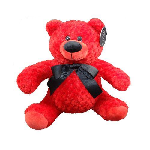 عروسک خرس قرمز پالیز مدل P040 ارتفاع 24 سانتی متر