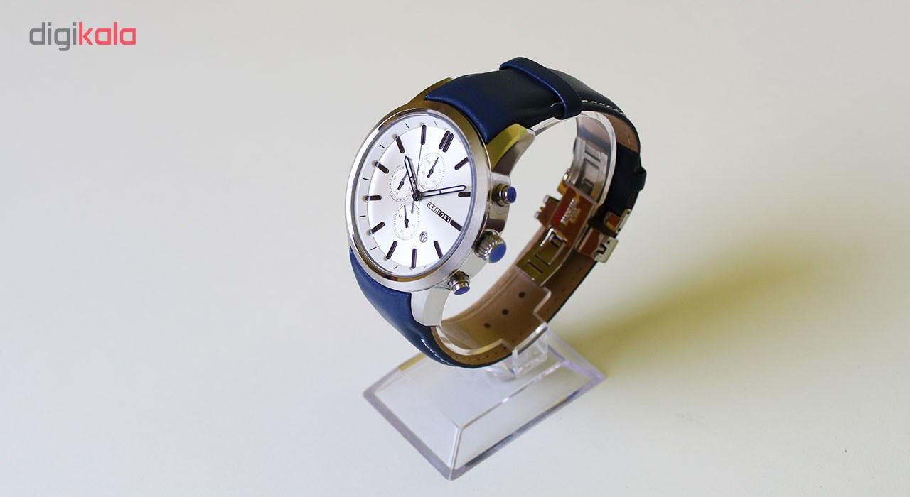خرید ساعت مچی عقربه ای مردانه لدفورت مدل کرنوگراف کد MK-0001