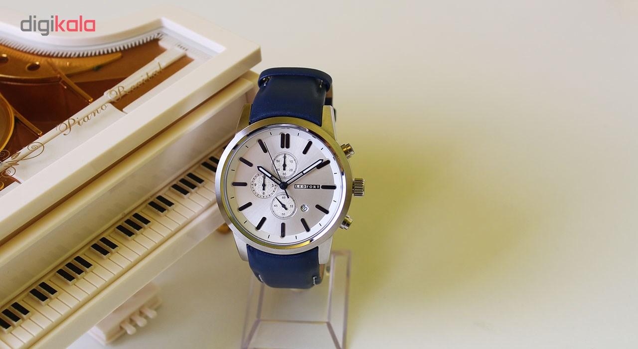 ساعت مچی  مردانه لدفورت مدل کرنوگراف کد MK-0001              اصل
