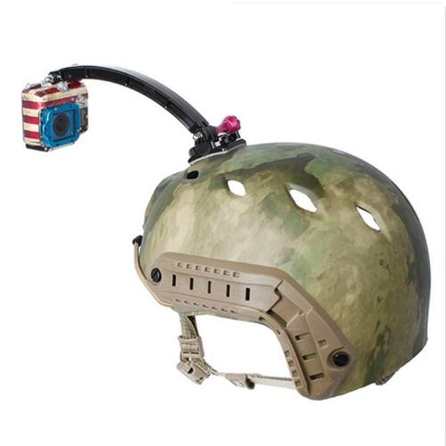 پایه اتصال دوربین روی کلاه مدل GP79 مناسب برای دوربین های ورزشی