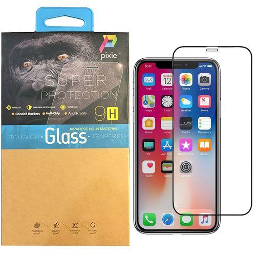 محافظ صفحه نمایش تمام چسب  شیشه ای مات پیکسی مدل Antiglare  مناسب برای گوشی اپل آیفون X