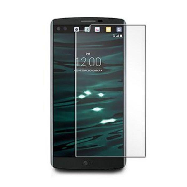 محافظ صفحه نمایش شیشه ای 9H مناسب برای گوشی موبایل  ال جی V10