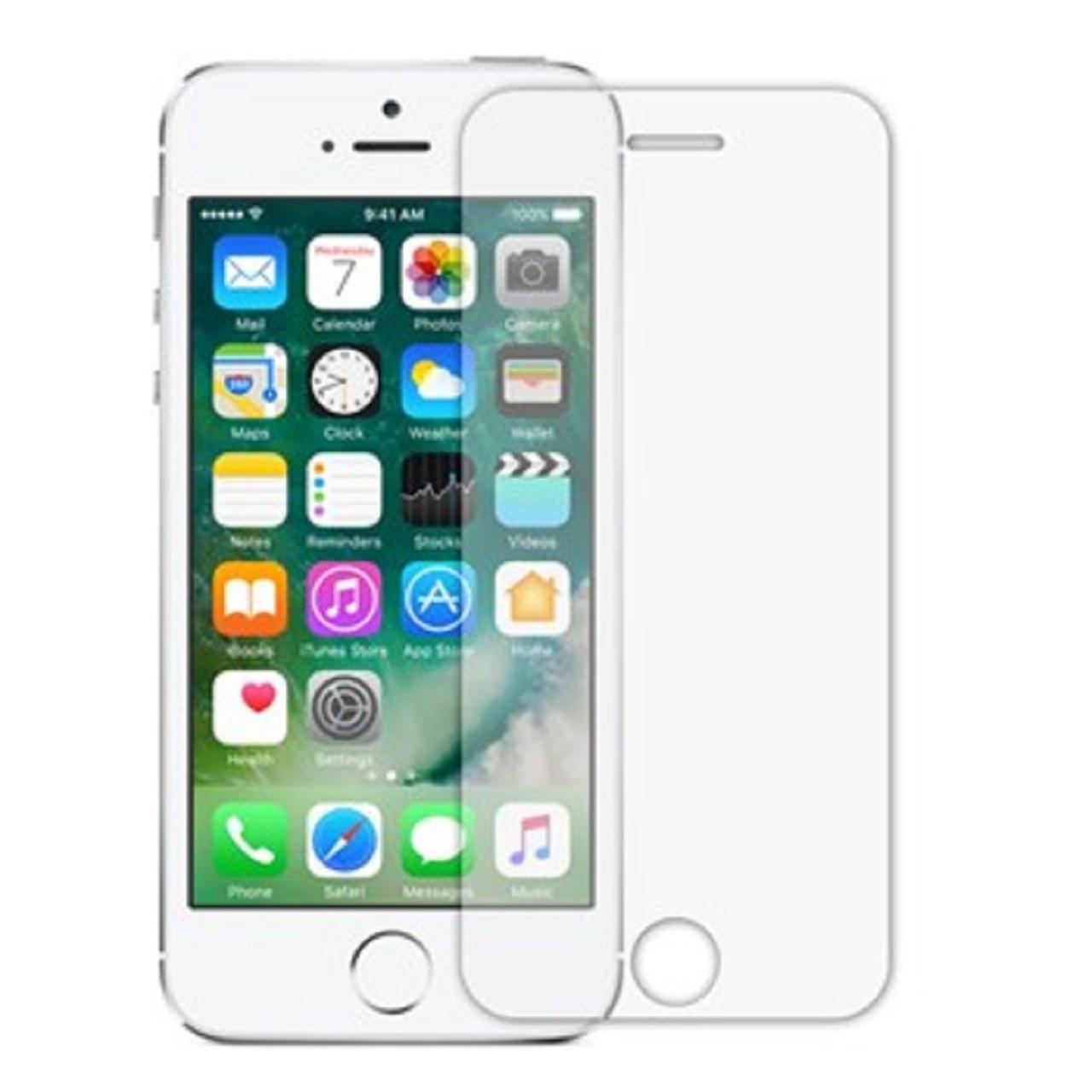 محافظ صفحه نمایش شیشه ای 9H مناسب برای گوشی موبایل iPhone 5/5S/SE