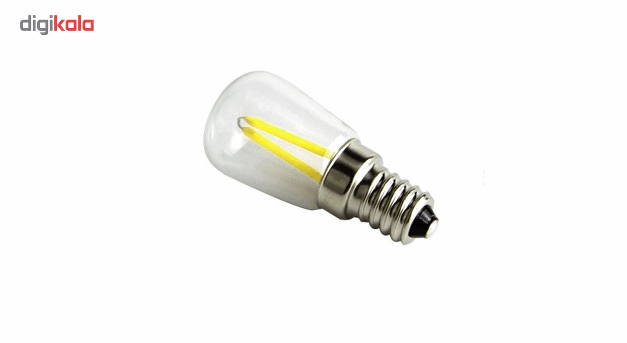 لامپ فیلامنتی 1.5 وات پایه E14 main 1 2