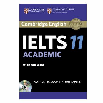 کتاب زبان IELTS Cambridge 11 Academic همراه با CD انتشارات کمبریج