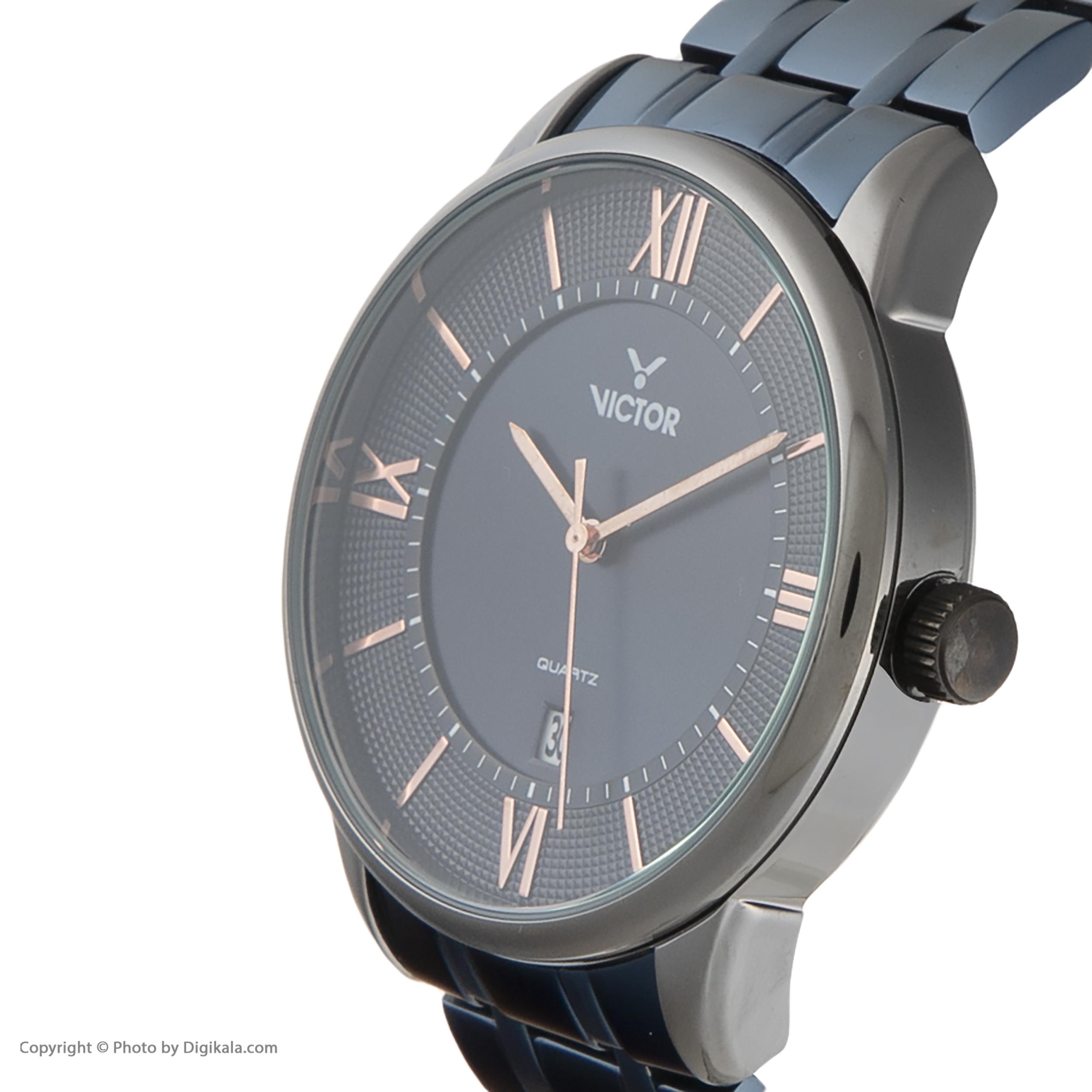 ساعت مچی عقربهای مردانه ویکتور مدل V1381-04
