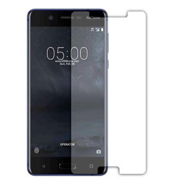محافظ صفحه نمایش شیشه ای 9H مناسب برای گوشی موبایل  نوکیا 5