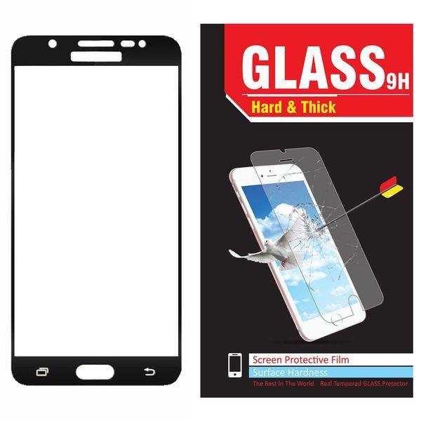 محافظ صفحه نمایش شیشه ای مدل Hard and thick  full cover مناسب برای گوشی موبایل سامسونگ  J5 Prime