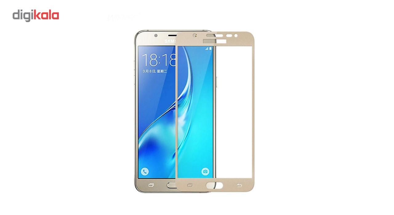 محافظ صفحه نمایش شیشه ای مدل Hard and thick  full cover مناسب برای گوشی موبایل سامسونگ  J5 Prime main 1 1