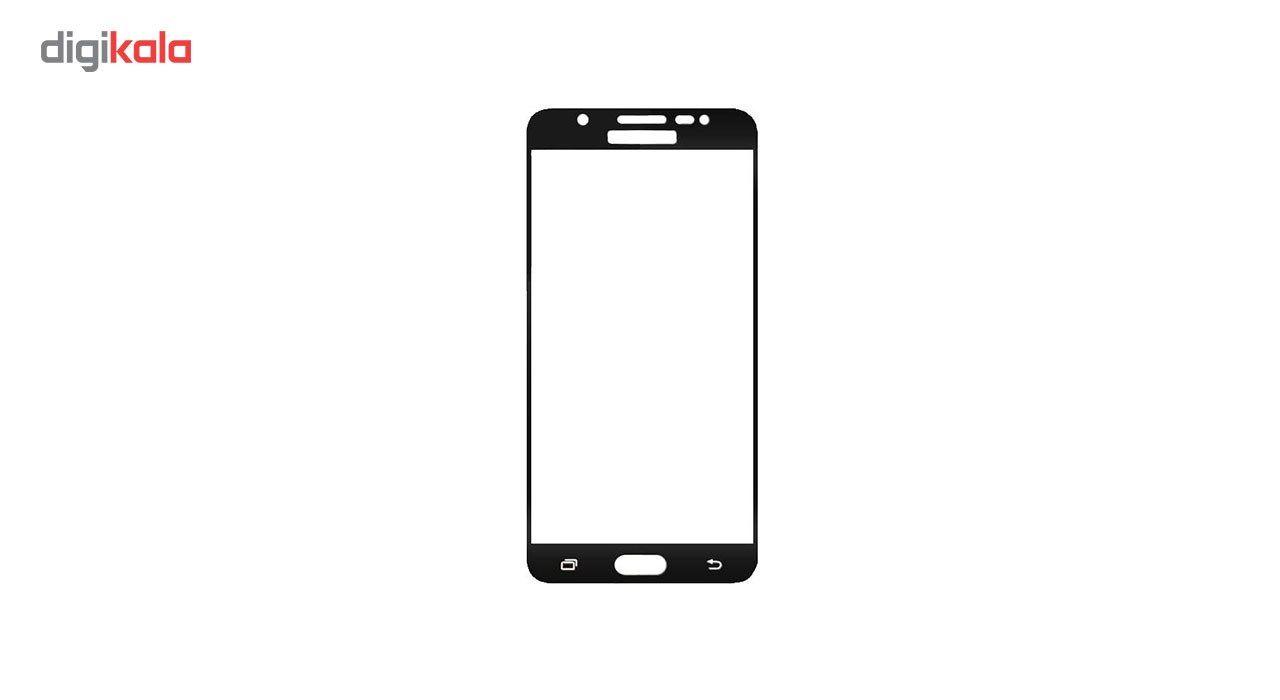 محافظ صفحه نمایش شیشه ای مدل Hard and thick  full cover مناسب برای گوشی موبایل سامسونگ  J5 Prime main 1 2