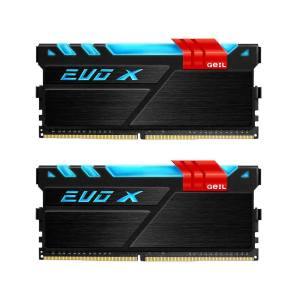 رم دسکتاپ DDR4 دو کاناله 3200 مگاهرتز CL16 گیل مدل Evo X ظرفیت 16 گیگابایت