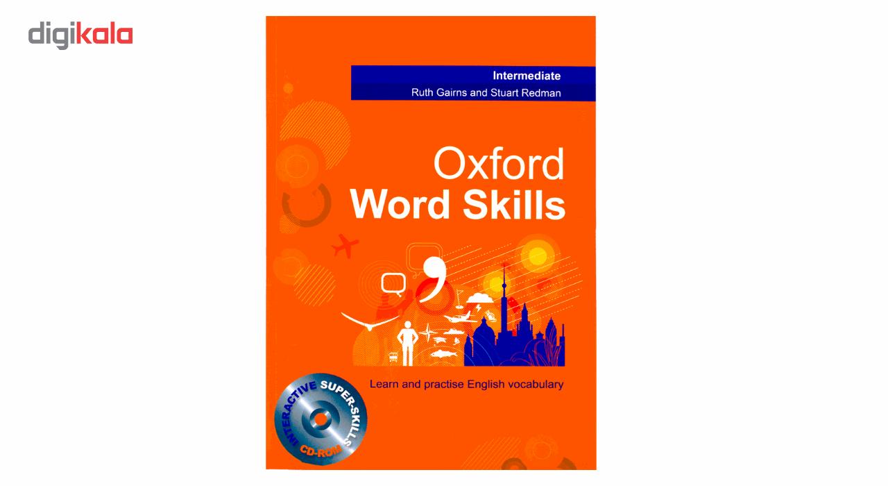 خرید                      کتاب زبان Oxford Word Skills Intermediate اثر Ruth Gairns