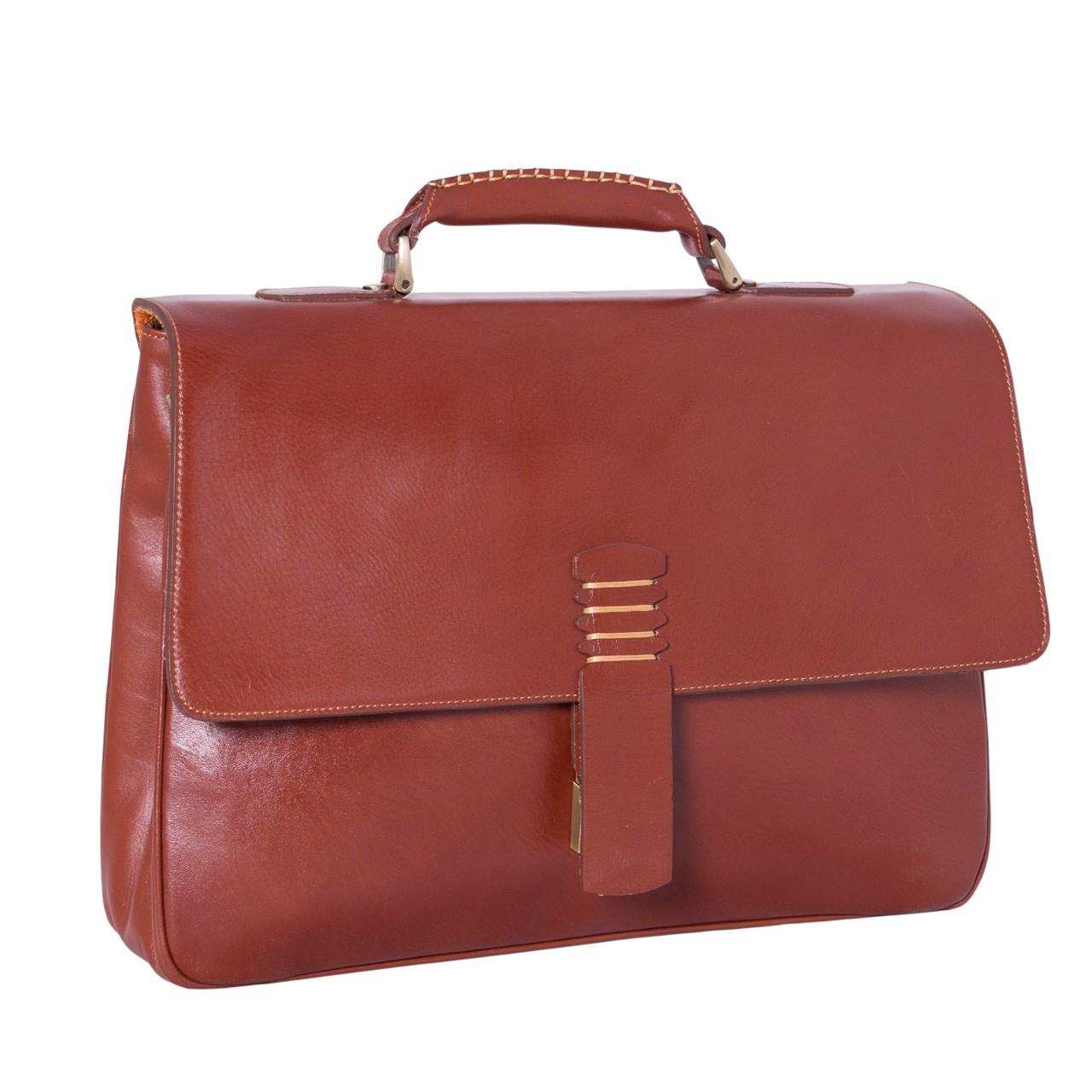 ADINCHARM natural leather office bag, DL4 Model