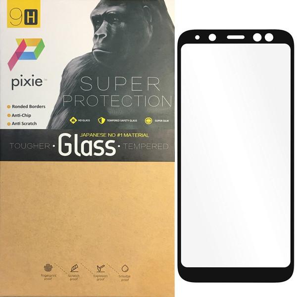 محافظ صفحه نمایش شیشه ای پیکسی مدل 5D  مناسب برای گوشی سامسونگ Galaxy A6 2018
