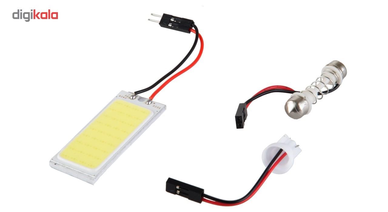 لامپ کیت سقف خودرو مدل 36 COB main 1 2
