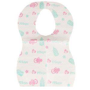 پیشبند یکبار مصرف نوزادی مایا مدل 001 بسته 10 عددی