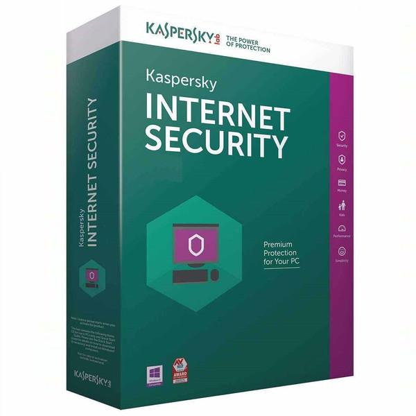 نرم افزار امنیتی کسپرسکی اینترنت سکیوریتی - 1کاربر 1 ساله