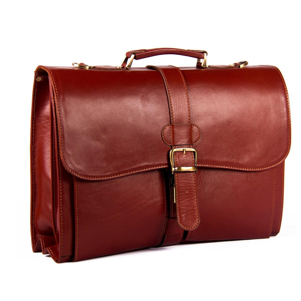 قیمت کیف اداری چرم طبیعی آدین چرم مدل DL1