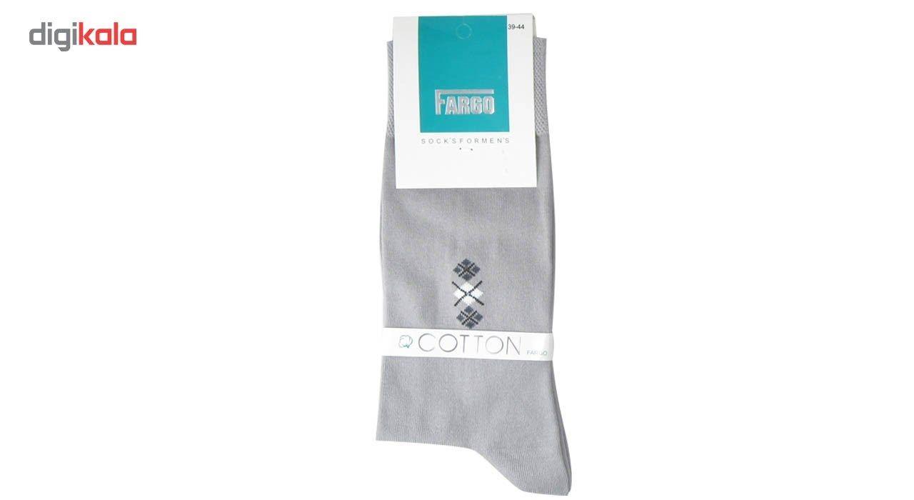 جوراب مردانه فارگو مدل R602-A005  بسته 4 جفتی main 1 4