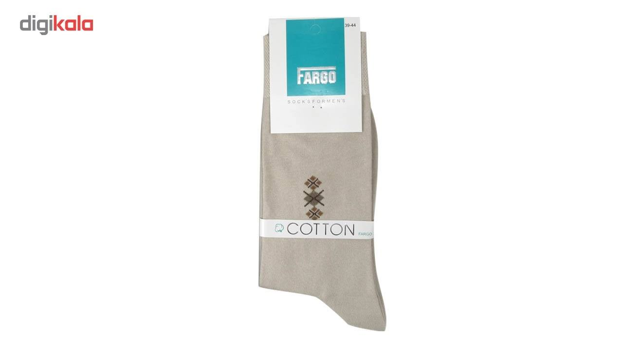 جوراب مردانه فارگو مدل R602-A005  بسته 4 جفتی main 1 6