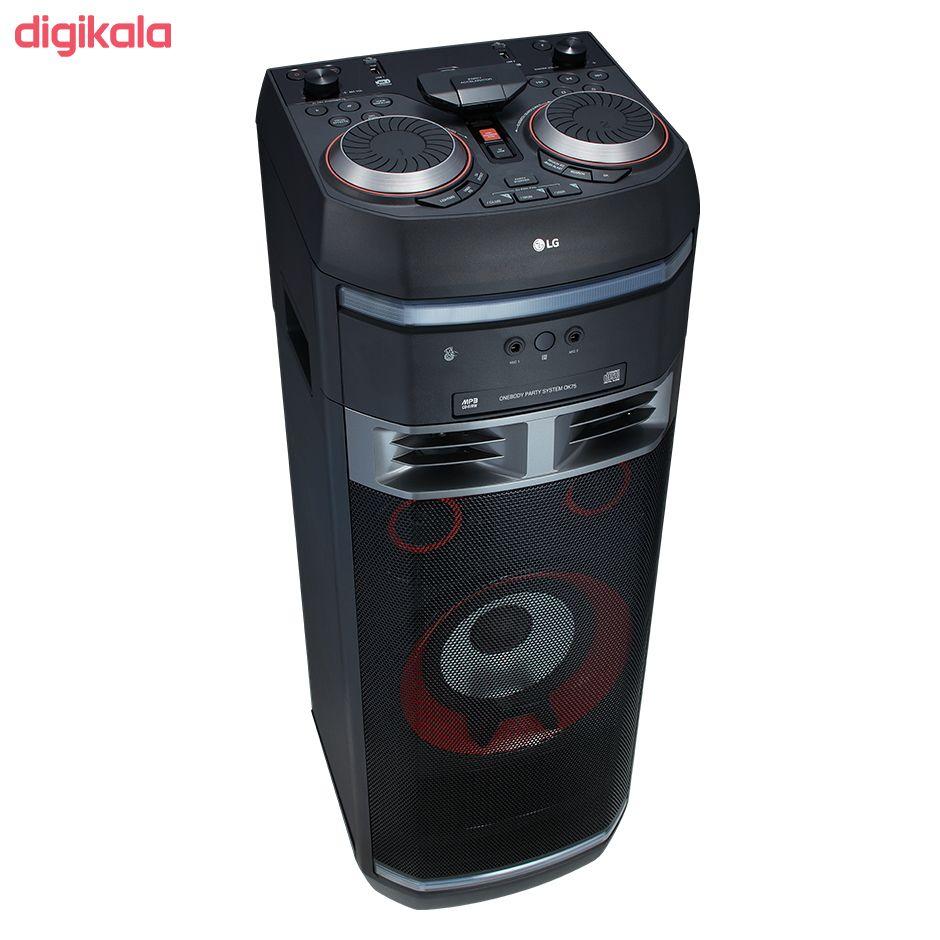 سیستم صوتی ال جی مدل OK75 main 1 16