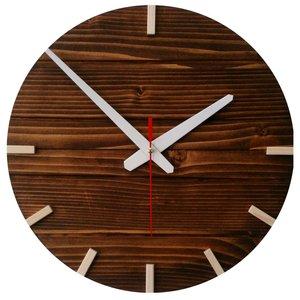ساعت دیواری چوبی کد 06