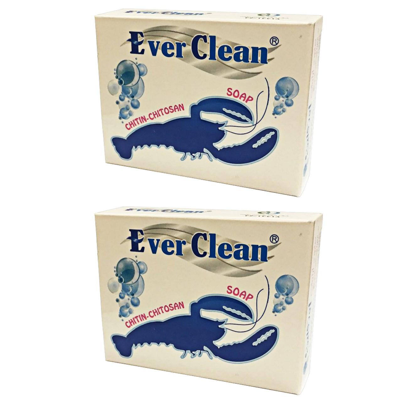 خرید                      صابون حاوی عصاره روغن خرچنگ اورکلین مدل Beauty مجموعه 2 عددی حجم 70 گرم