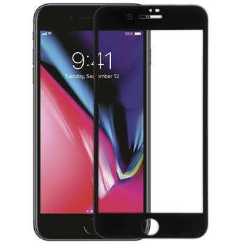 محافظ صفحه نمایش شیشه ای مدل 5D Plus Protect مناسب برای گوشی اپل iPhone 8 Plus