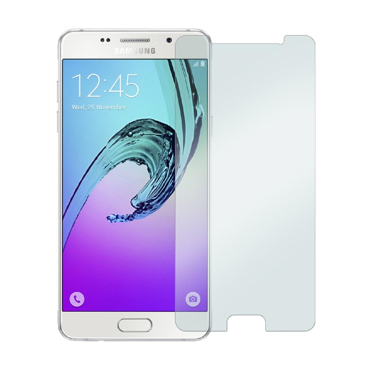 محافظ صفحه نمایش شیشه ای 9H مناسب برای گوشی موبایل سامسونگ Galaxy A5 2016