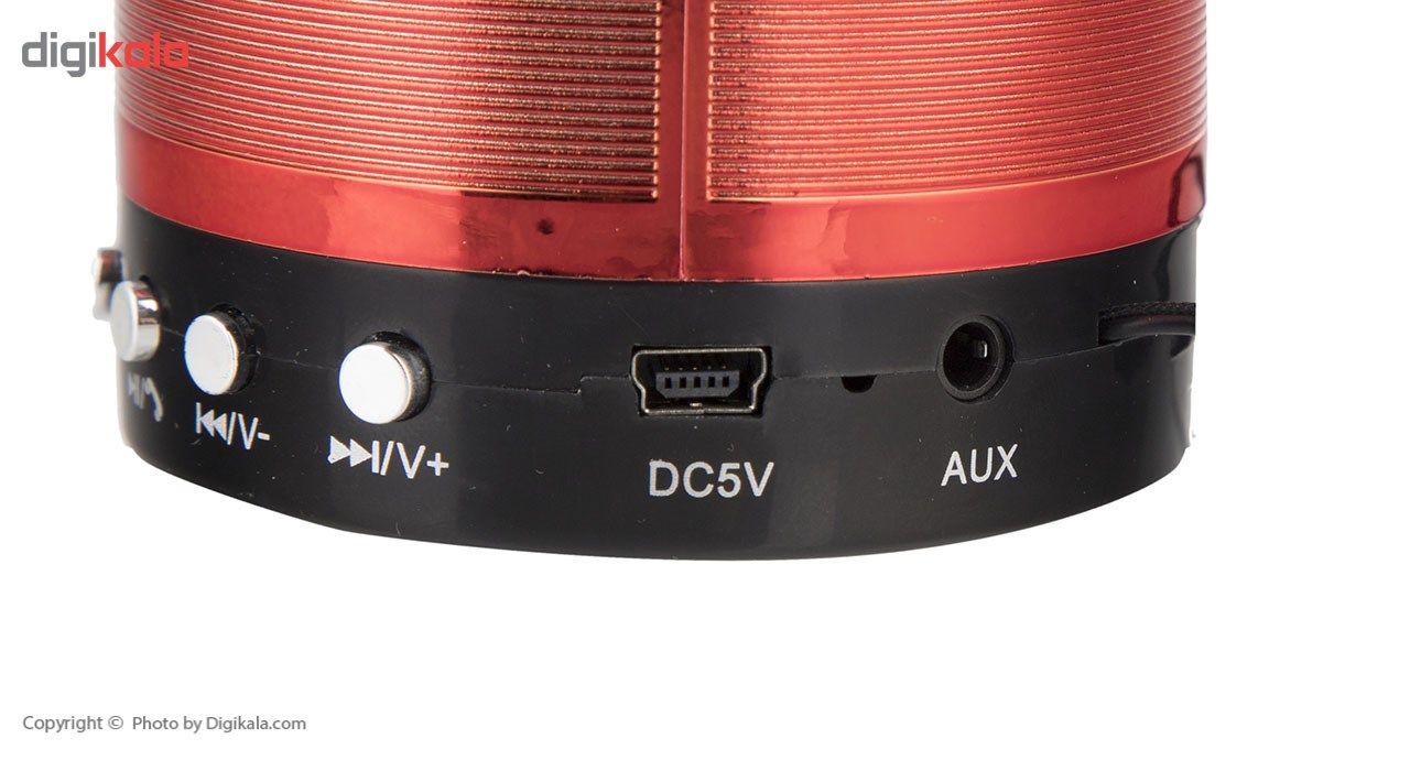 اسپیکر بلوتوثی قابل حمل مدل WS-887 main 1 7