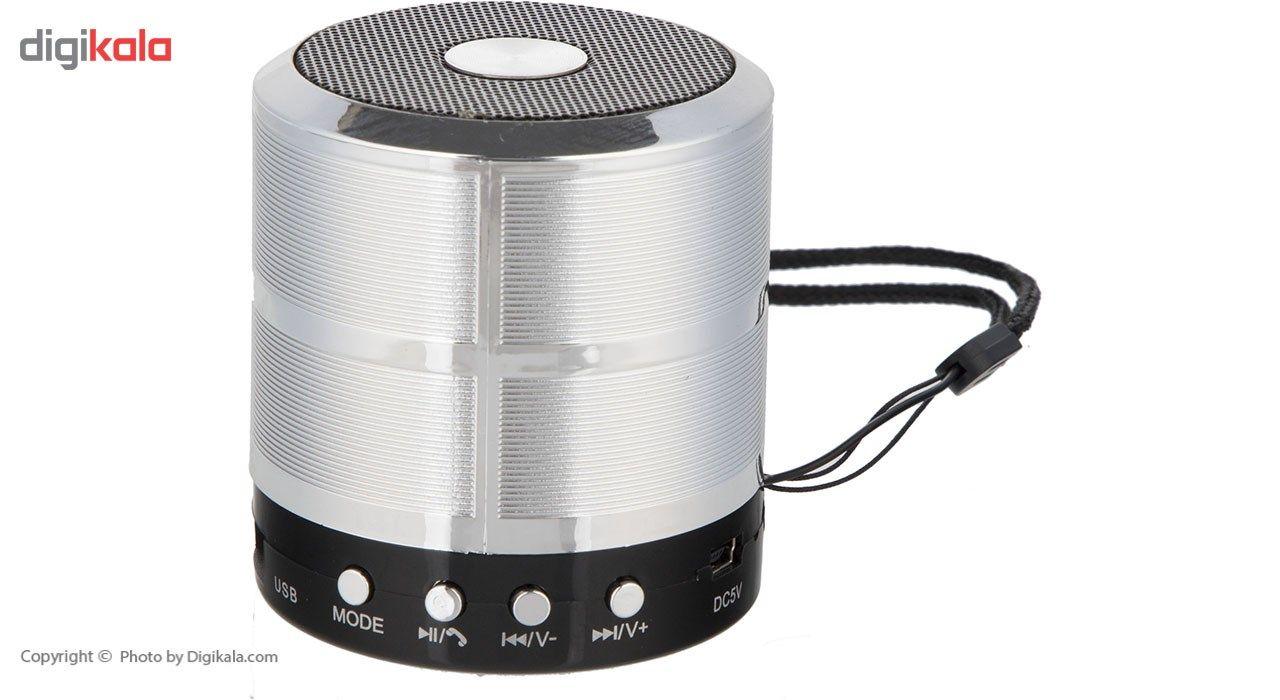 اسپیکر بلوتوثی قابل حمل مدل WS-887 main 1 11