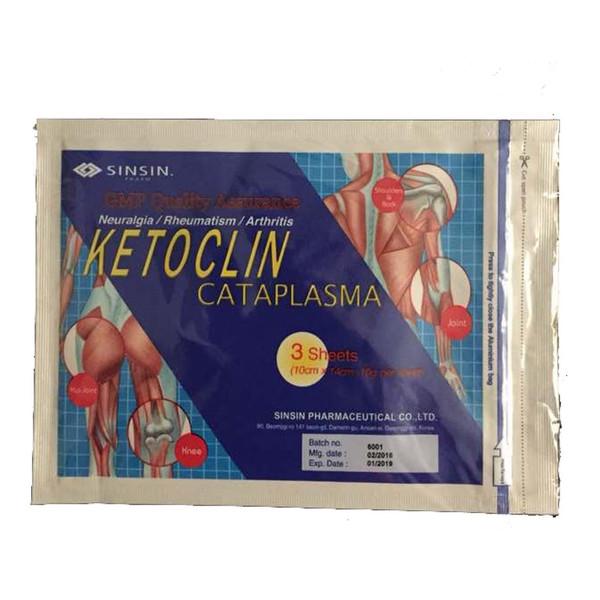 پد گرفتگی عضلات سین سین مدل Ketoclin Cataplasma