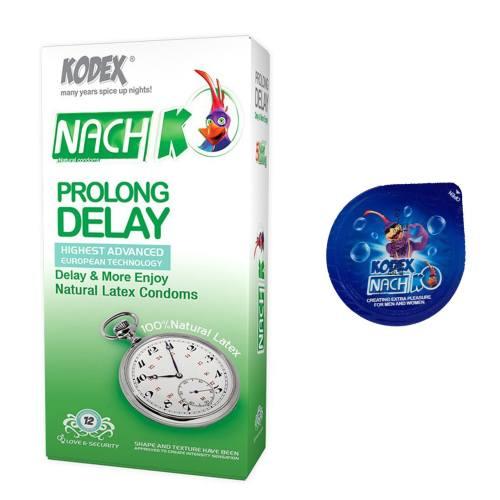 کاندوم نازک مدل بلیسر کدکس به همراه یک بسته کدکس مدل Prolong Delay بسته 12 عددی