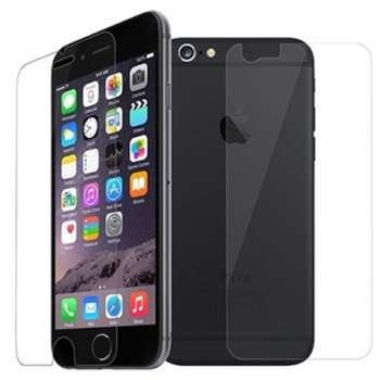 محافظ صفحه نمایش و پشت گلس پرو پلاس مدل Premium Tempered مناسب برای گوشی موبایل   اپل آیفون 6 / 6S