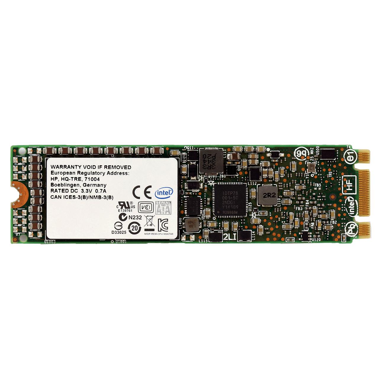 اس اس دی اینترنال اچ پی مدل Read Intensive SATA M.2 2280 با ظرفیت 120 گیگابایت