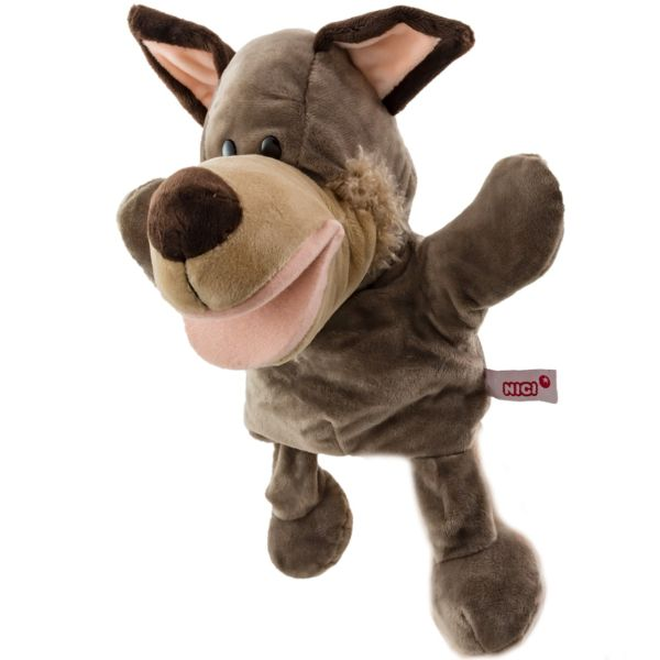 عروسک نمایشی نیکی مدل گرگ زیرک