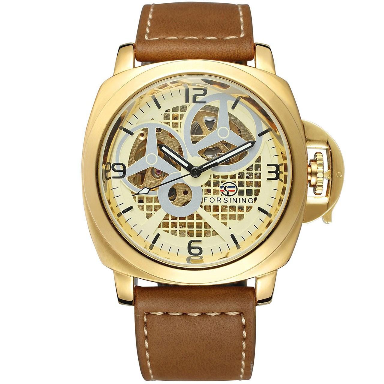 ساعت مچی عقربهای مردانه فورسنینگ مدل FSG8132M3G1 55