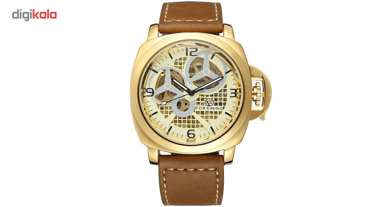 خرید ساعت مچی عقربهای مردانه فورسنینگ مدل FSG8132M3G1